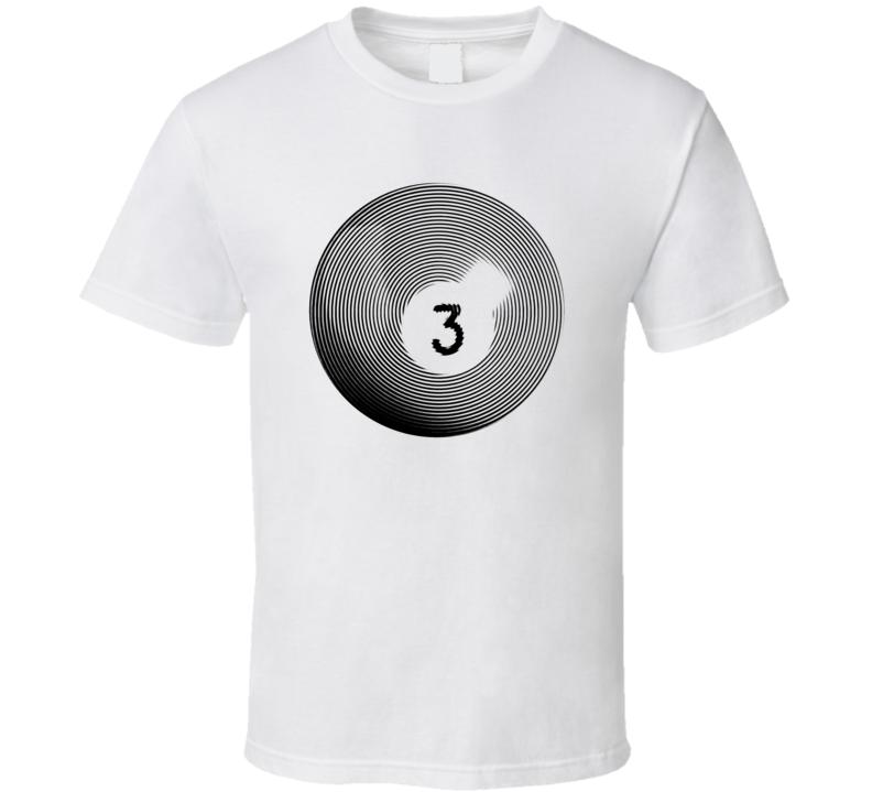 Pool Billiards Player Ball 3 Ripple Cool Gift T Shirt