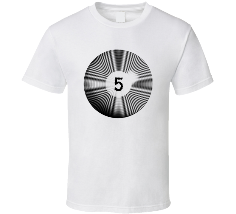 Pool Billiards Player Ball 5 Ripple Cool Gift T Shirt