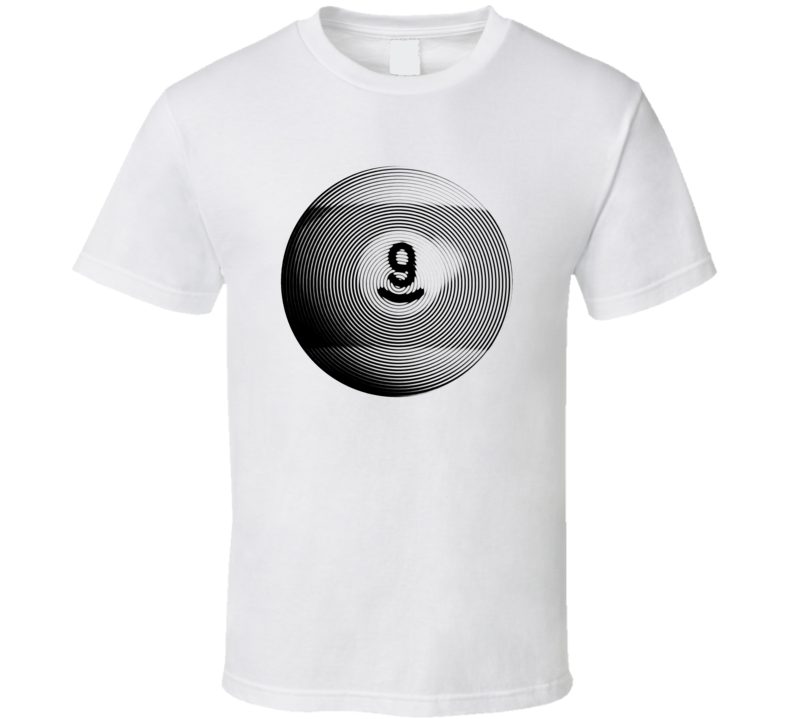 Pool Billiards Player Ball 9 Ripple Cool Gift T Shirt