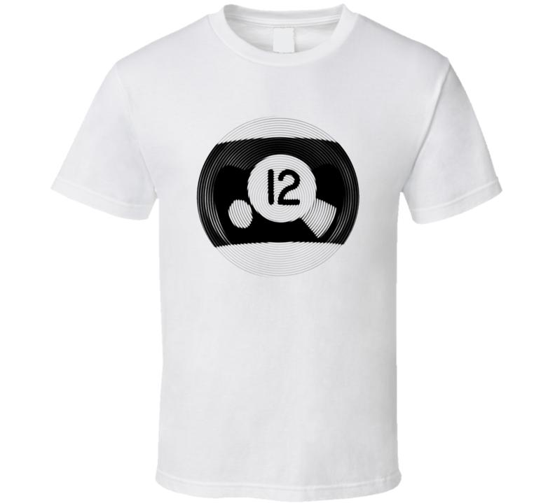 Pool Billiards Player Ball 12 Ripple Cool Gift T Shirt