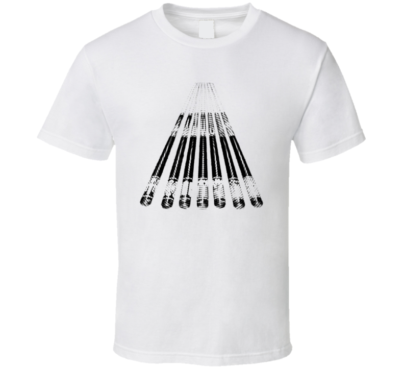 Pool Billiards Player Bridge Stick Ripple Cool Gift T Shirt