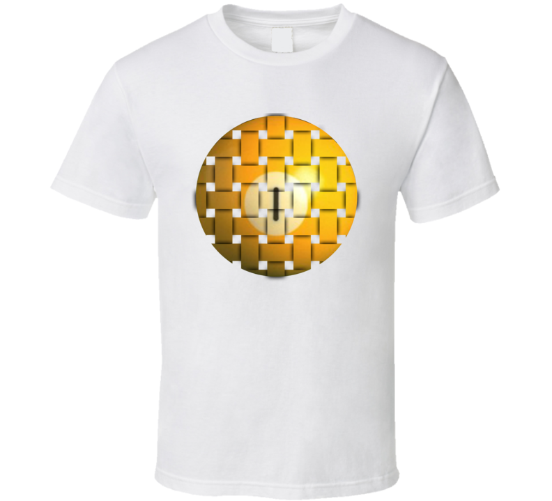 Pool Billiards Player Ball 1 Weave Cool Gift T Shirt