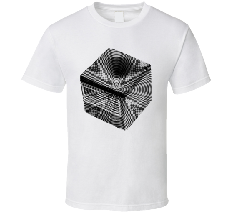 Pool Cue Chalk Cubes Billiards Player Ripple Cool Gift T Shirt