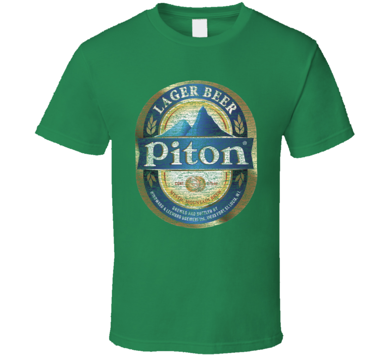 Piton Beer Lover Ale Lager St. Patrick's Day T Shirt
