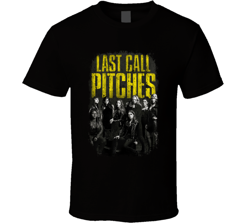 Pitch Perfect 3 Movie Poster Cool Worn Look T Shirt