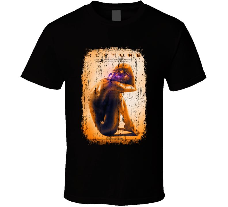 Rupture Movie Poster Cool Worn Look T Shirt