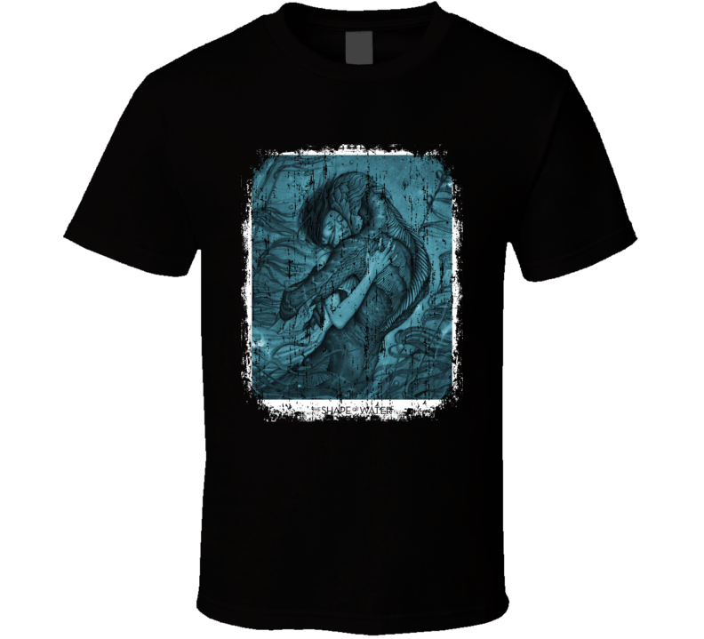 The Shape Of Water Movie Poster Cool Worn Look T Shirt