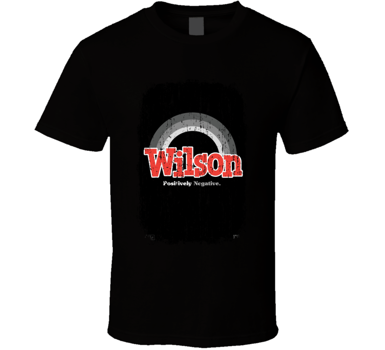 Wilson Movie Poster Cool Worn Look T Shirt
