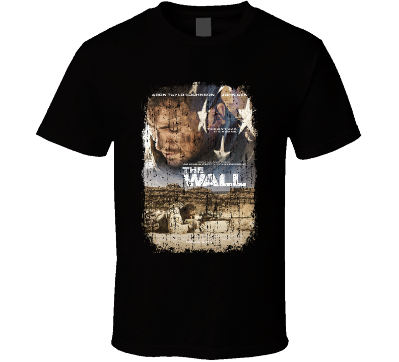 The Wall Movie Poster Cool Worn Look T Shirt