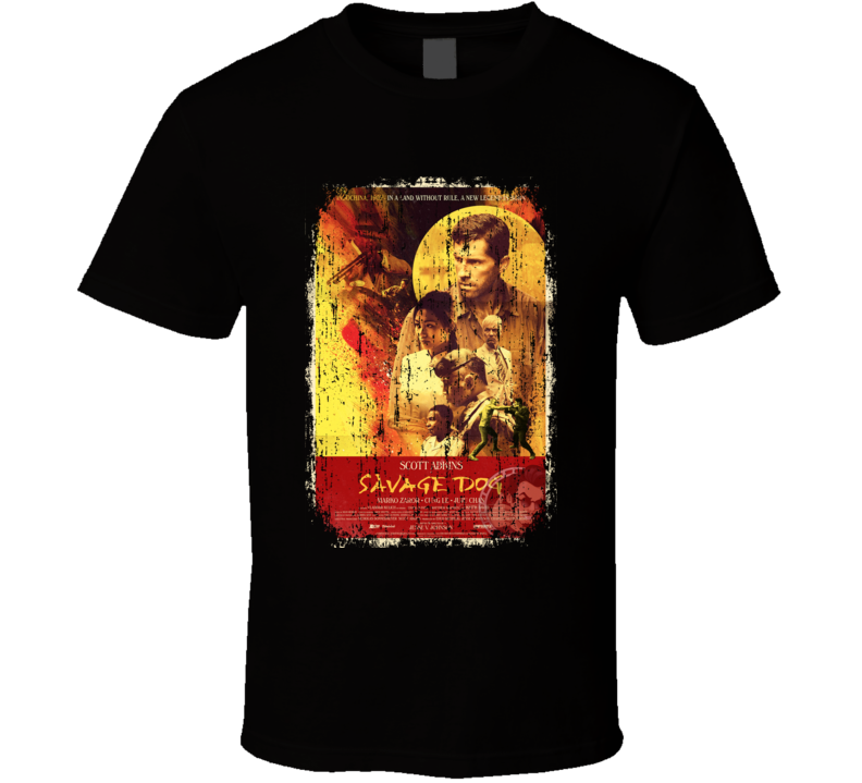 Savage Dog Movie Poster Cool Worn Look T Shirt