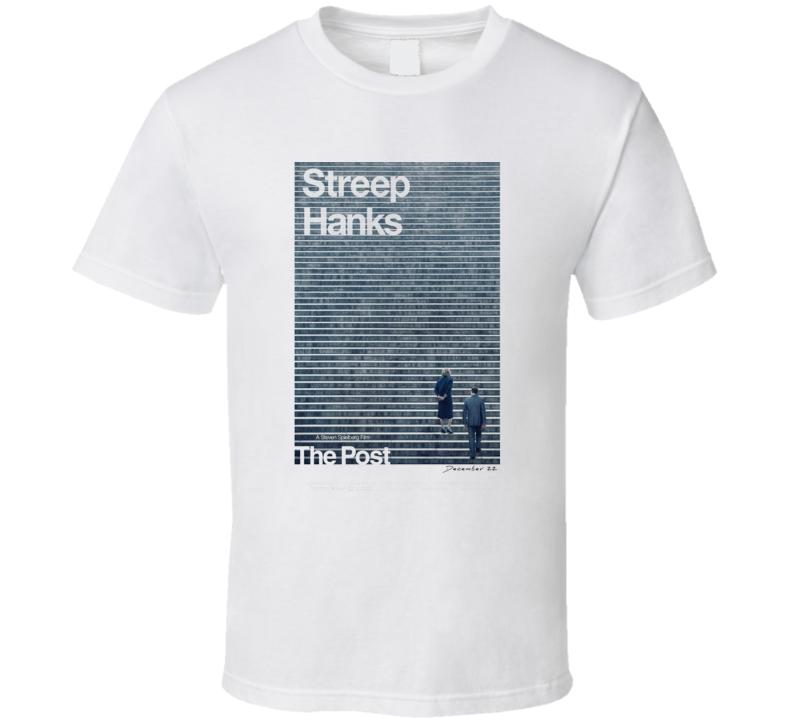 The Post Steven Spielberg Tom Hanks Movie Fan T Shirt