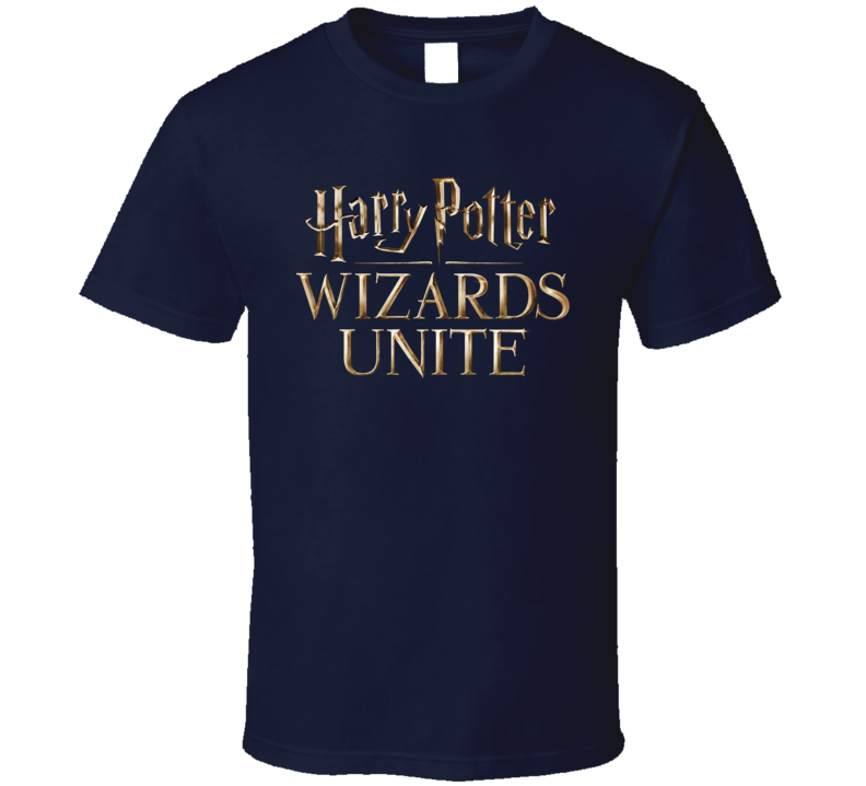 Harry Potter Wizards Unite Video Mobile Gaming Fan Gift T Shirt