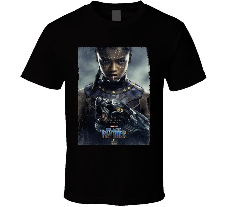 Black Panther Shuri Princess Of Wakanda Marvel Superhero Action Movie Fan Gift T Shirt