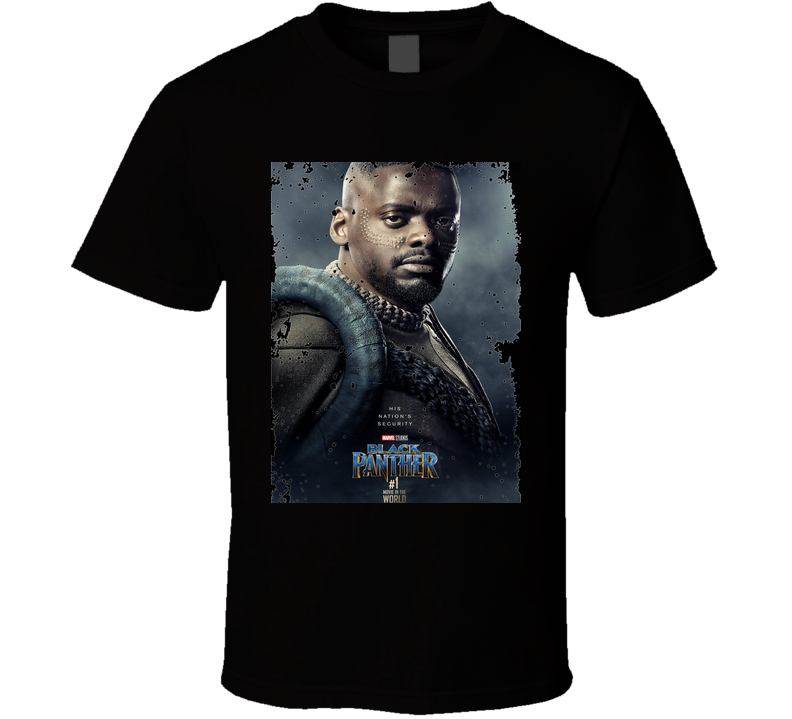 Black Panther W'kabi Of Wakanda Marvel Superhero Action Movie Fan Gift T Shirt