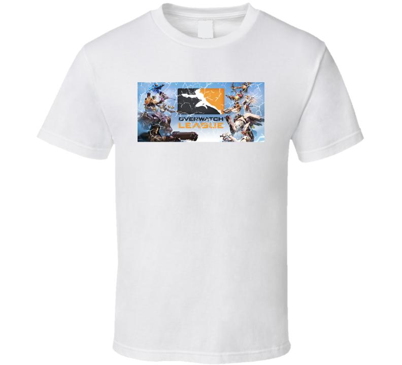 Overwatch League Online Gamer Multi-Player Video Game Super Fan Gift T Shirt