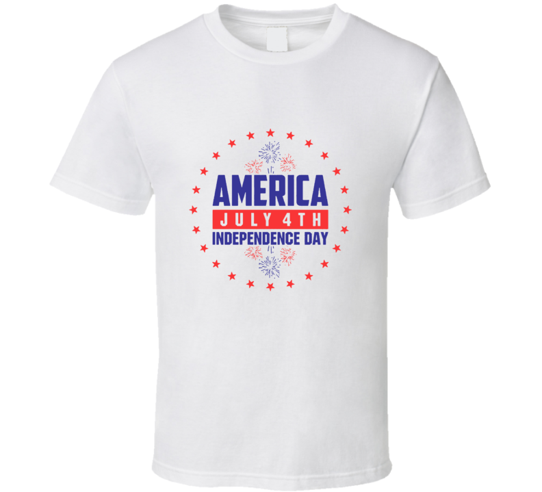 July 4th Proud American Independence Day Holiday Cool T Shirt