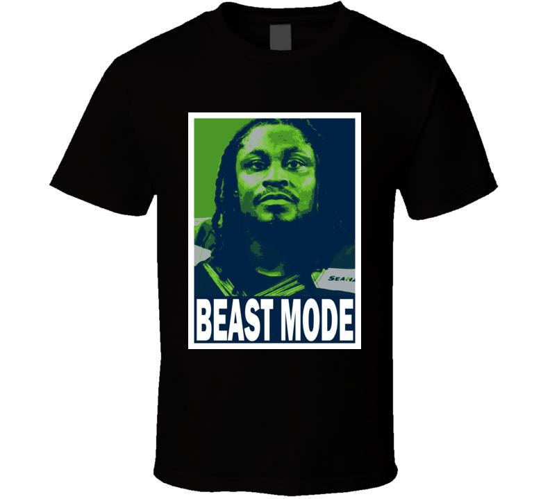 Marshawn Lynch Beast Mode Best Nicknames In Sports Seattle Football Fan Hope T Shirt