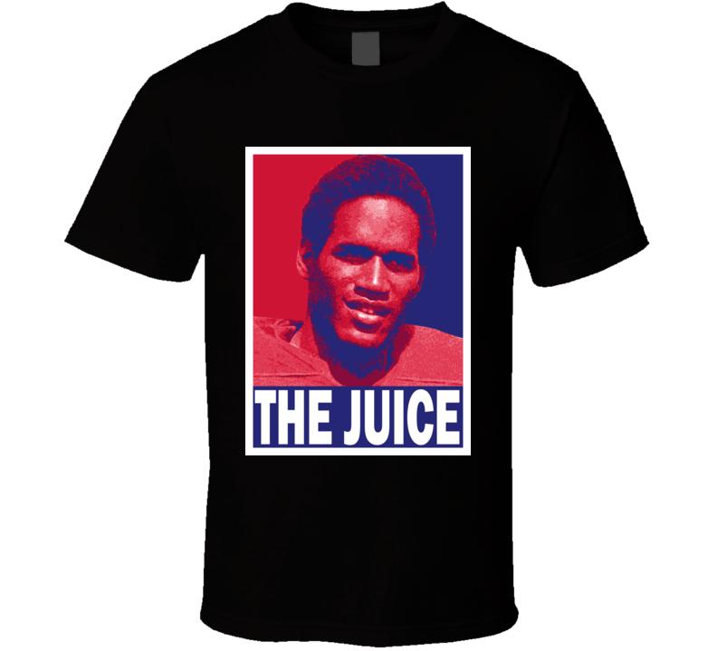 OJ Simpson The Juice Nicknames In Sports Columbia Football Fan Hope T Shirt