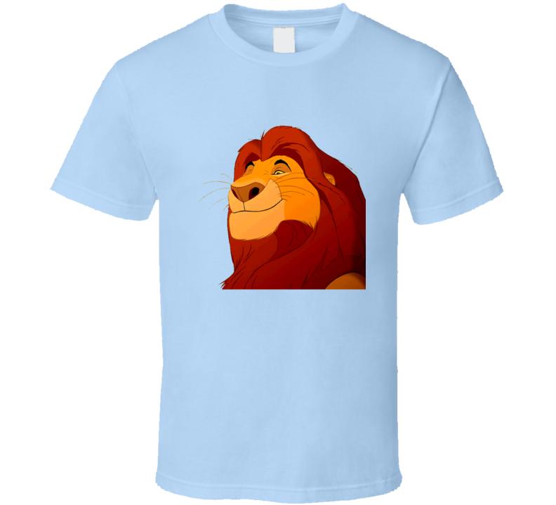 Lion King Big Head Mufasa Hipster T Shirt