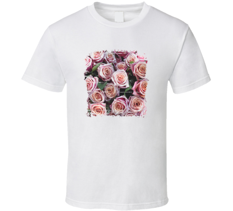 Pretty Roses Cool Grunge look T shirt