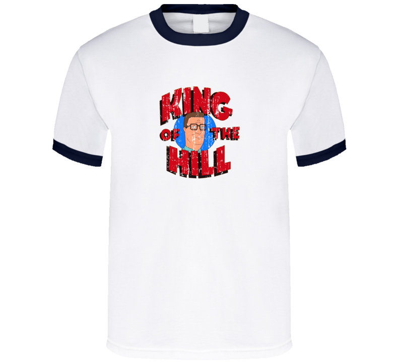 King of the Hill Animated TV Series Aged Look T Shirt