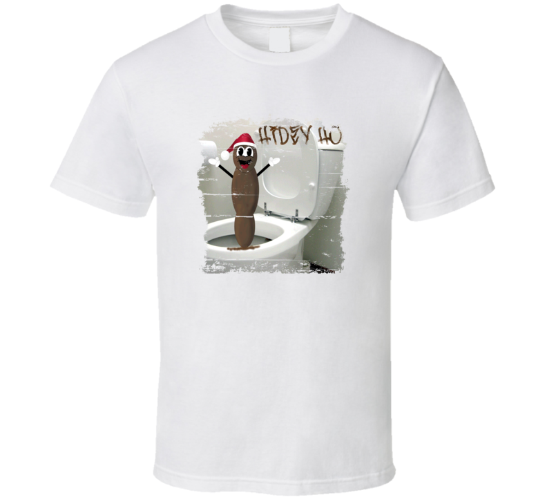 Mr. Hankey, the Christmas Poo Cool Grunge Look Funny T Shirt