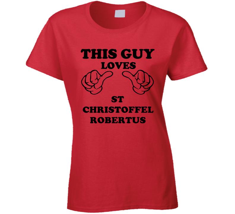 St Christoffel Robertus Beer Funny T Shirt