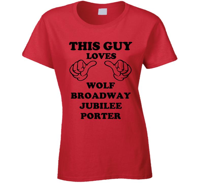 Wolf Broadway Jubilee Porter Beer Funny T Shirt