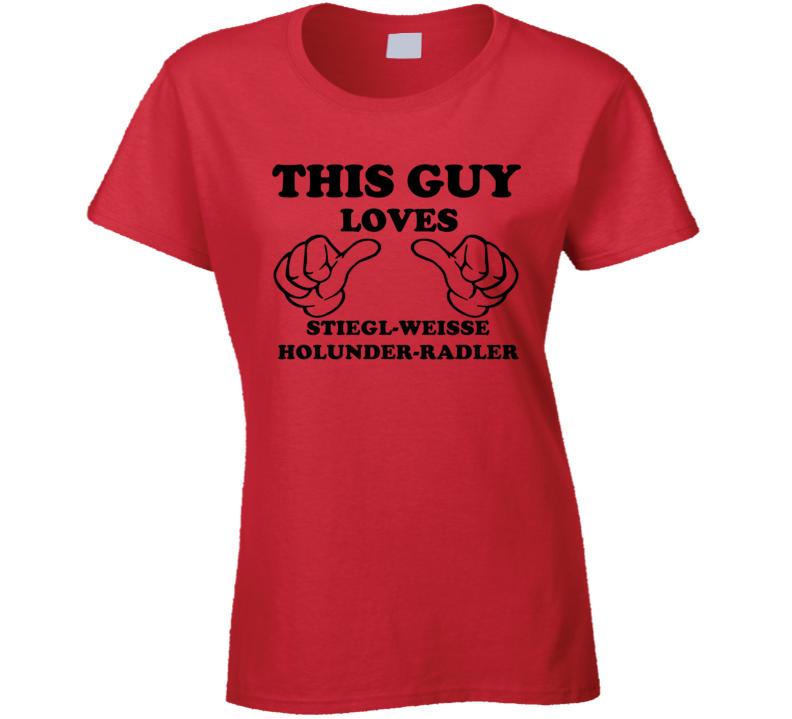 Stiegl-Weisse Holunder-Radler Beer Funny T Shirt