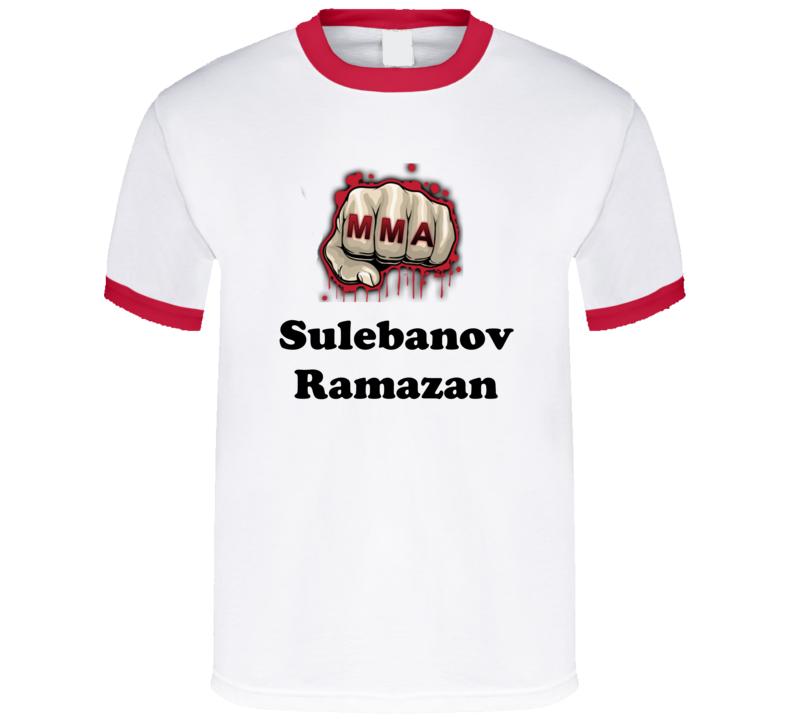Sulebanov Ramazan Mixed Martial Arts Fighters Cool Grunge Look T shirts