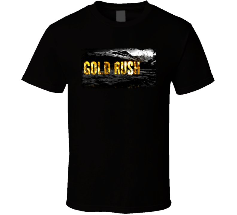 Gold Rush TV Series Awesome Grunge Look T shirt