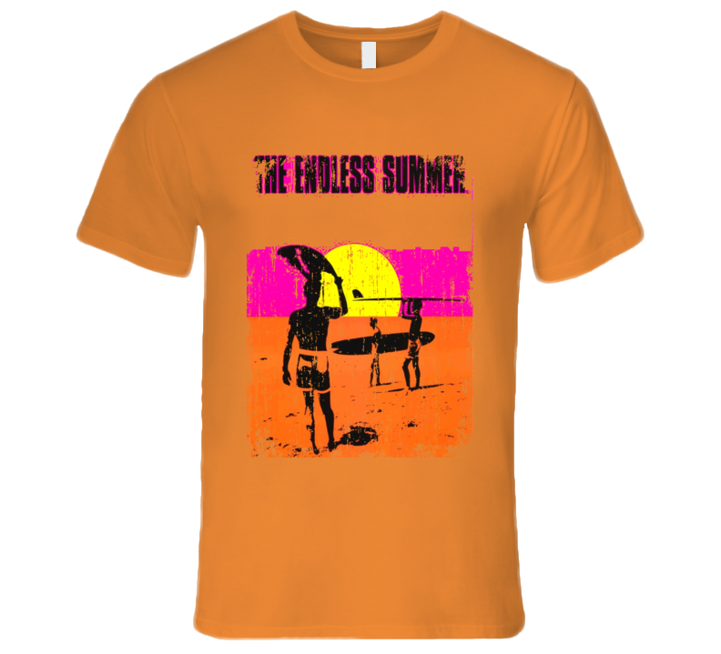 The Endless Summer Cool Summer Movie Grunge Look T shirt