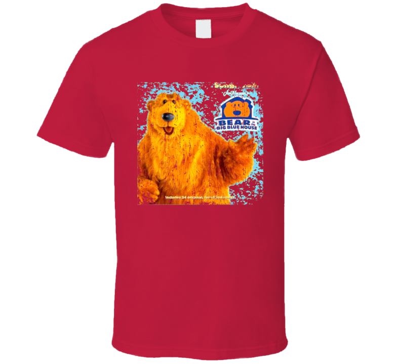Bear In The Big Blue House Best 90S Kids Tv Shows Grunge T Shirt
