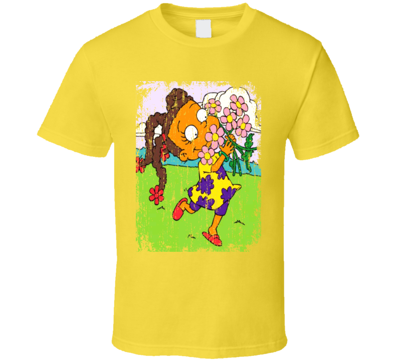 Susie Carmichael Character Rugrats Animated Series Grunge T Shirt