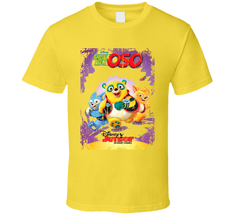 Walt Disney Animated TV Series Special Agent Oso Worn T shirt