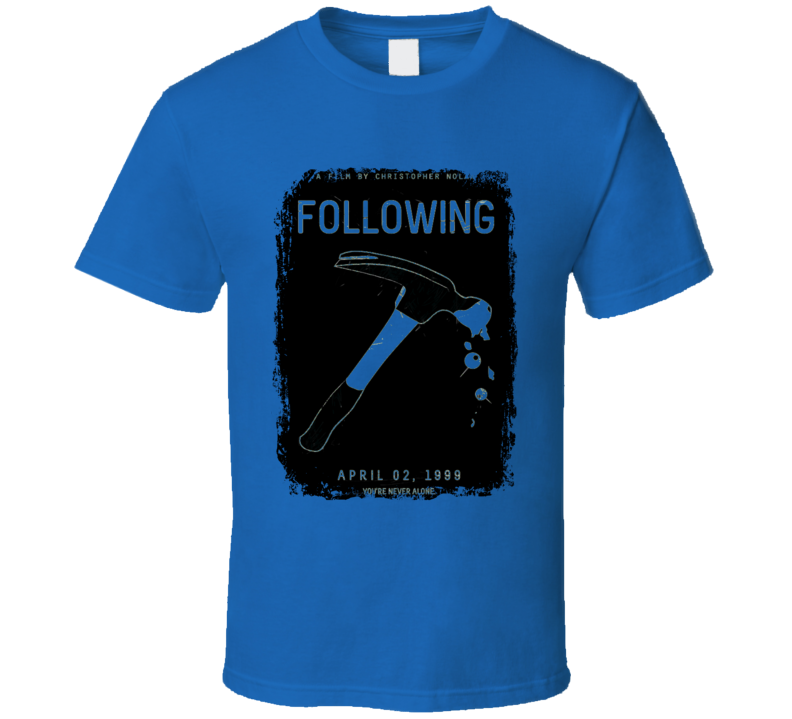 Following Comedy Film Poster Aged Look T Shirt