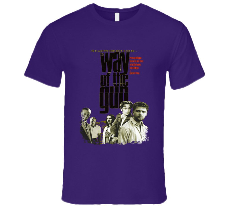 The Way of the Gun Comedy Film Poster Aged Look T Shirt