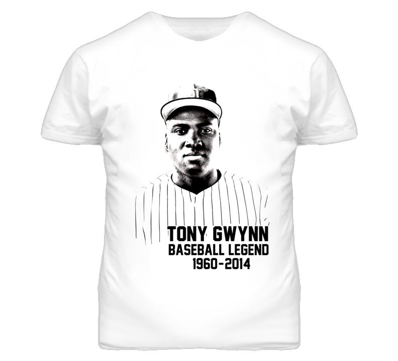 Tony Gwynn Baseball Legend T Shirt