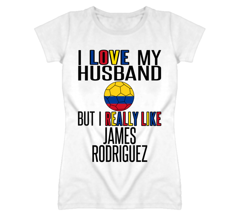 Really Like James Rodriguez Colombia World Cup T Shirt