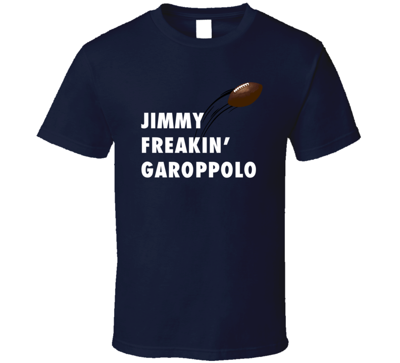 Jimmy Garoppolo New England Freakin' Football Graphic T Shirt