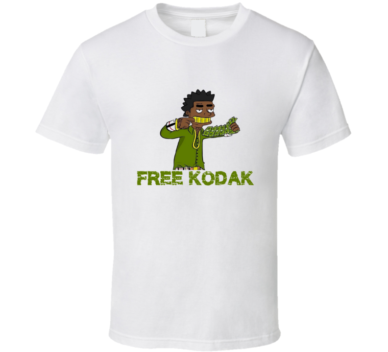 Free Kodack Black Cartoon T Shirt