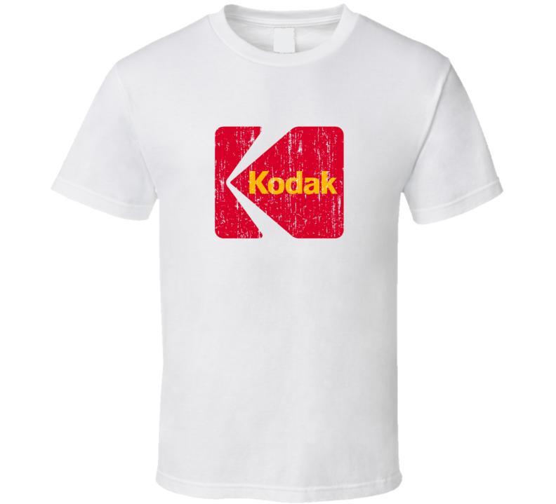 Kodak Distressed Camera Look T Shirt