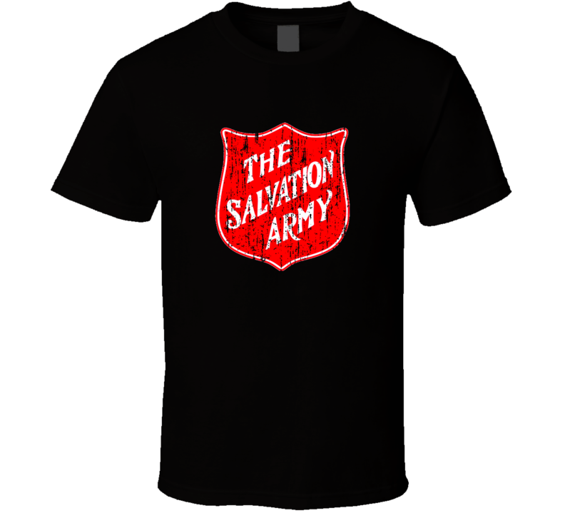 Salvation Army Distressed T Shirt