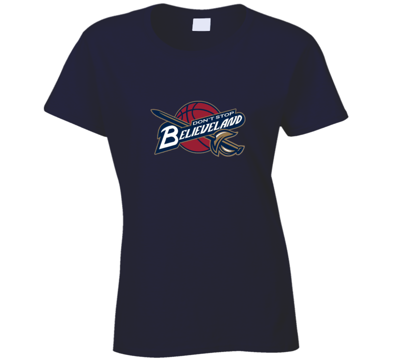 Cleveland Believeland Ladies T Shirt