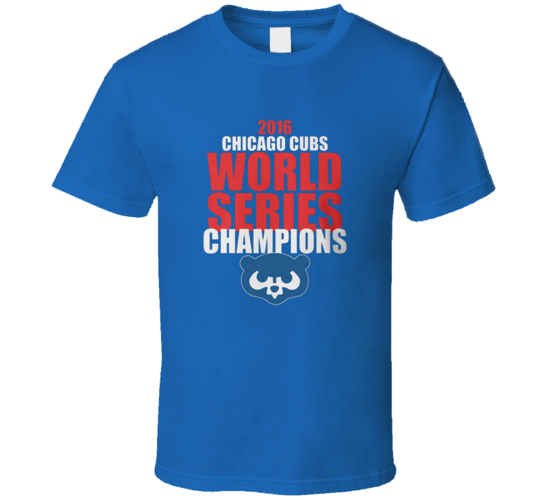 Chicago Cubs World Series Champion Shirt