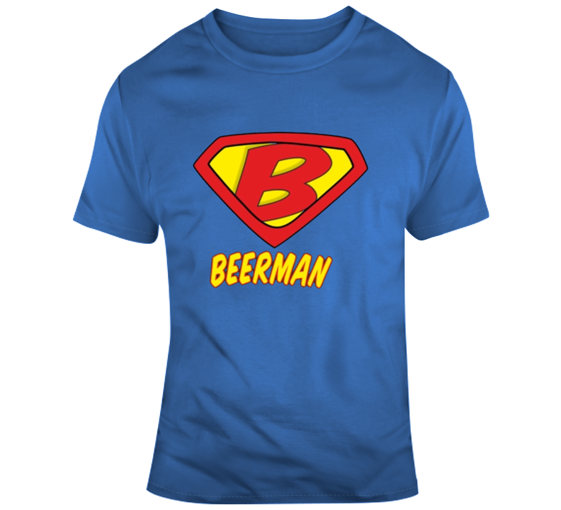 Beerman Logo Superman Parody T Shirt