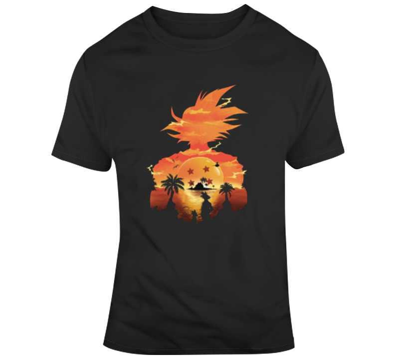 Dragonball Z Sunset Goku T Shirt