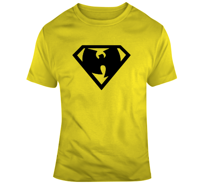 Wu-tang Diamond Superman Crest Parody T Shirt
