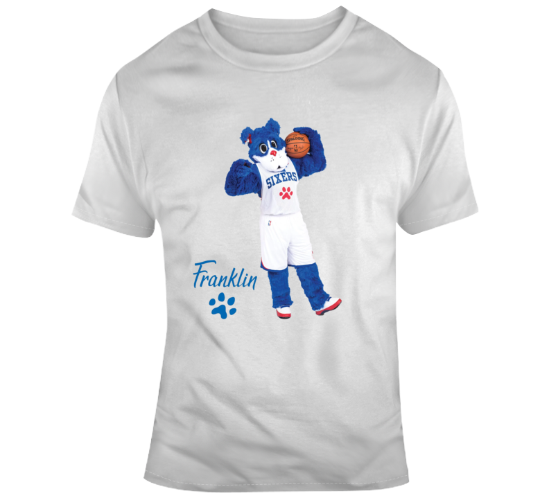 Franklin The Dog Sixers Mascot T-shirt
