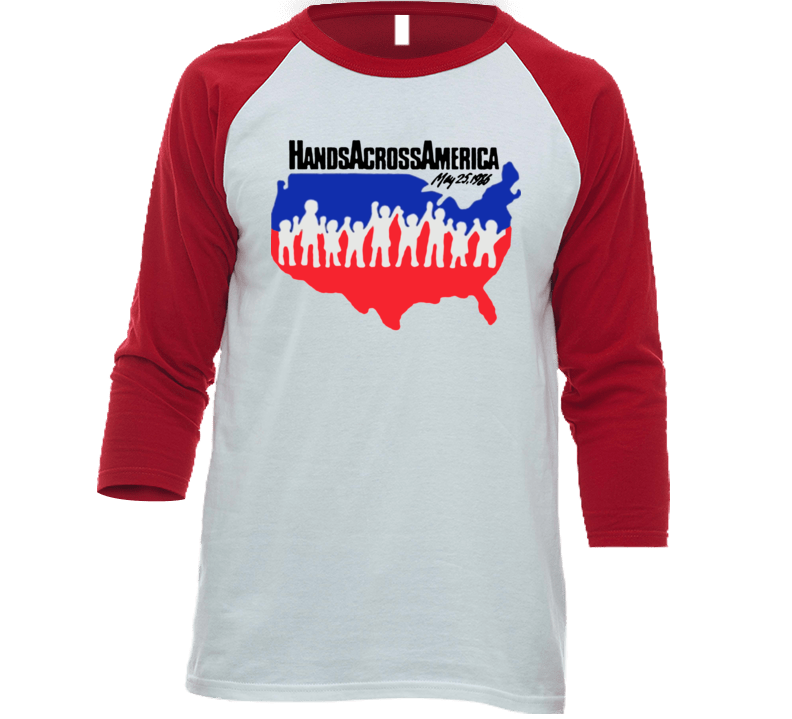 Hands Across America Us T-shirt